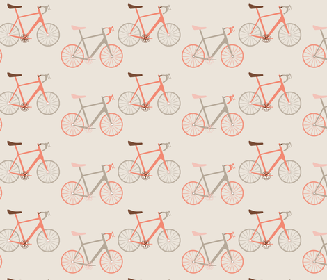 bikes and stripes fabric by draw_forth on Spoonflower - custom fabric