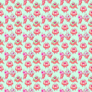 ice cream candy mothman pattern