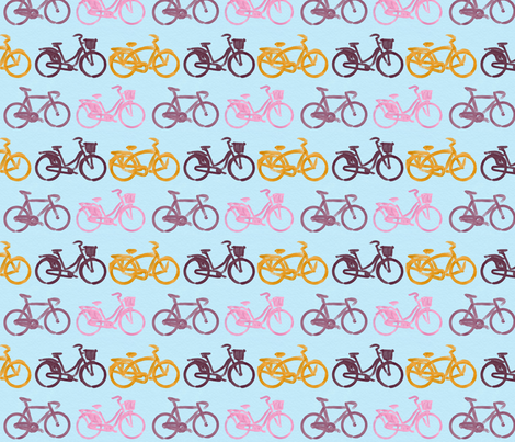 simple cycle fabric by allison_crary on Spoonflower - custom fabric