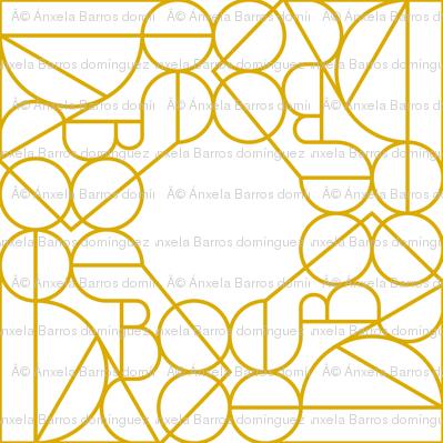 Marrakesh Gold Pattern