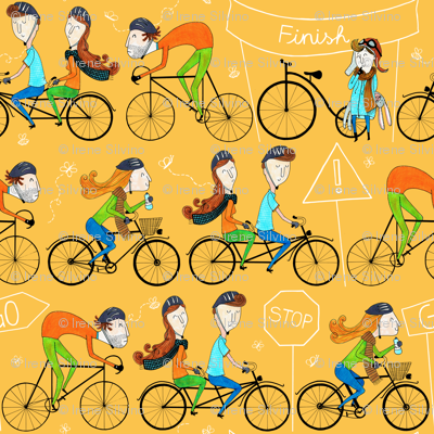 Pattern #81 - I love cycling!