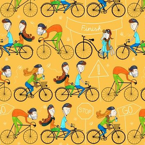 Pattern #81 - I love cycling!