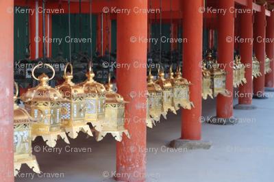 Golden Lanterns Japan
