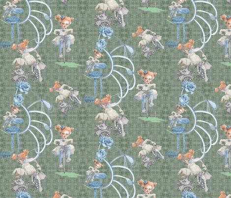 Rolling on My Tricycle fabric by nancy_lee_moran_designs on Spoonflower - custom fabric
