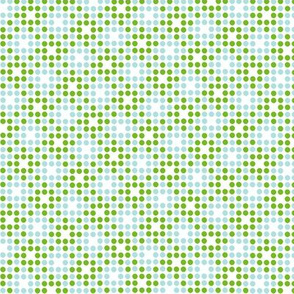 Dot Matrix* (Grass & Polymer) || polka dots dot bitmap pixel pixelated houndstooth check plaid 70s retro vintage