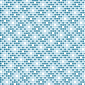 Dot Matrix* (Blue Liz & Sailor) || polka dots dot bitmap pixel pixelated houndstooth check plaid 70s retro vintage