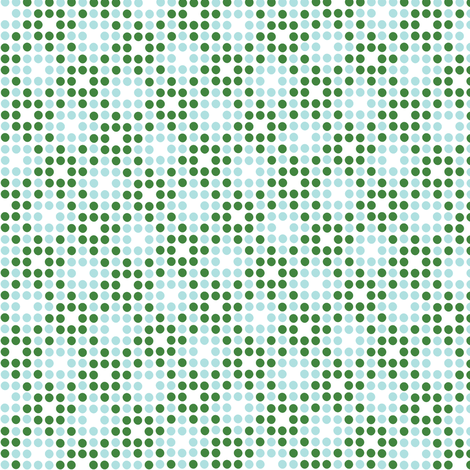 Dot Matrix* (Dollar Bill & Polymer) || polka dots dot bitmap pixel pixelated houndstooth check plaid 70s retro vintage fabric by pennycandy on Spoonflower - custom fabric