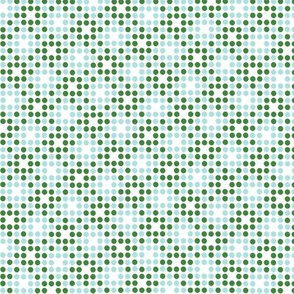 Dot Matrix* (Dollar Bill & Polymer) || polka dots dot bitmap pixel pixelated houndstooth check plaid 70s retro vintage