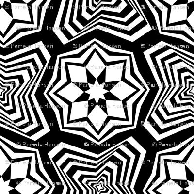 marakesh tile black and white