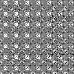 marakesh tile black and white
