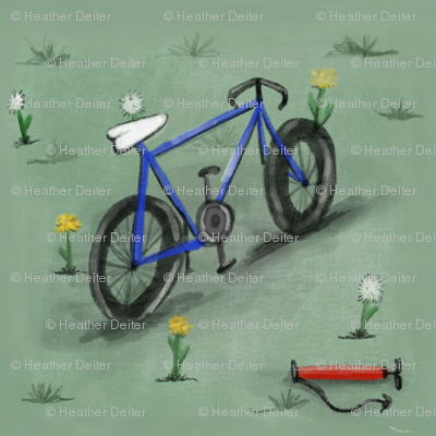 Bicycle & Dandelion