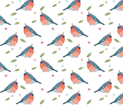 Party Birds fabric by how-store on Spoonflower - custom fabric