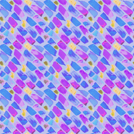 Paint Swatches in Purple fabric by mscloud on Spoonflower - custom fabric