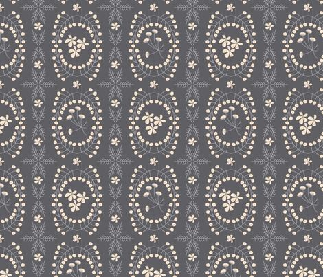 Meadowland medallions ~ nightshade fabric by retrorudolphs on Spoonflower - custom fabric