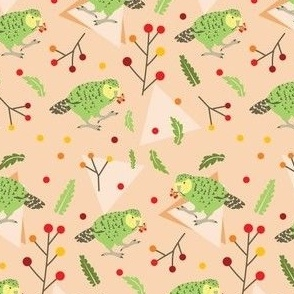 Peachy Kakapo