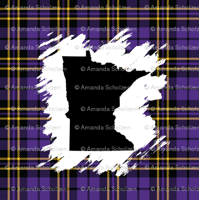 MN Plaid-Viking Colors_58x58in