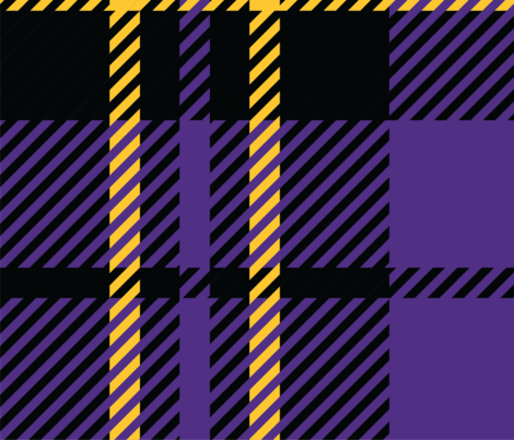 MN Plaid-Viking Colors_58x58in fabric by ascholzendesigns on Spoonflower - custom fabric