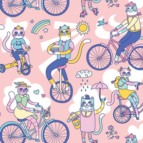 Cycle Cats!
