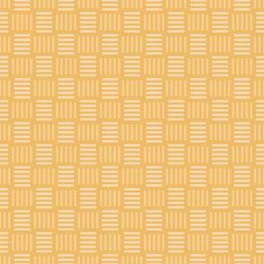 Vintage Golden Basketweave