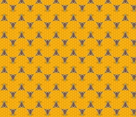Bee Kind! fabric by krystalsavage on Spoonflower - custom fabric