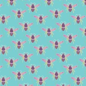 bee tile blue-01
