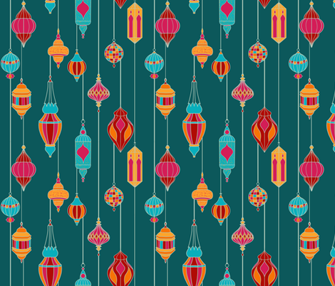 Moroccan Chri fabric by new_branch_studio on Spoonflower - custom fabric