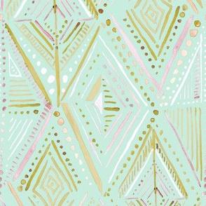 Boho Diamond-Mint