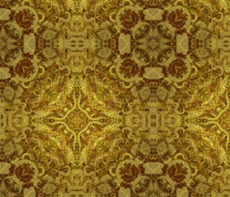 Golden Woodwork fabric by richardhjones on Spoonflower - custom fabric