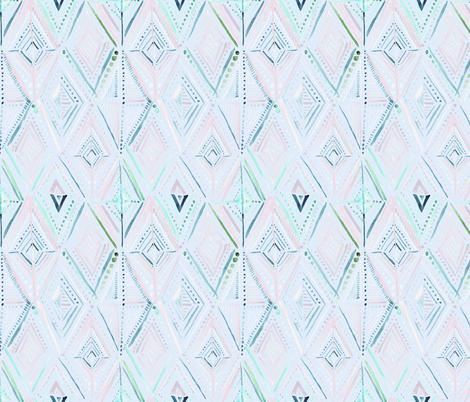 Boho Diamond-Dreamy fabric by crystal_walen on Spoonflower - custom fabric