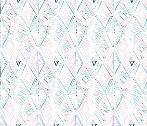 Boho Diamond-Dreamy02 fabric by crystal_walen on Spoonflower - custom fabric
