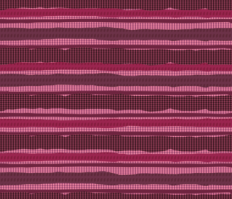 Irregular stripes + Dots (Magenta) fabric by doris_rguez on Spoonflower - custom fabric
