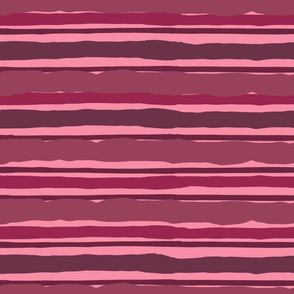 Irregular Stripes (Magenta)