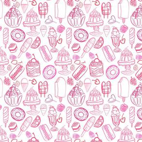 Sweets 1 - Spoonflower