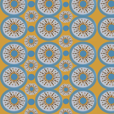 Cliff Village Bay Dots fabric by fabric_is_my_name on Spoonflower - custom fabric