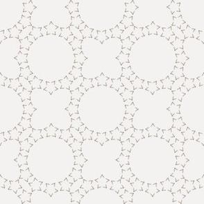 Starlight Lattice: Warm Gray 1+6