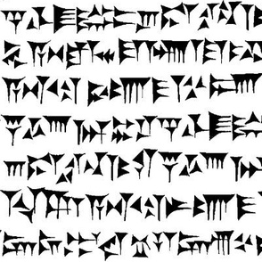 Babylonian Cuneiform // Large