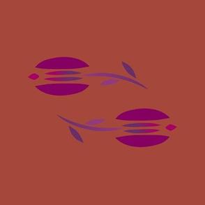 tulip rust magenta