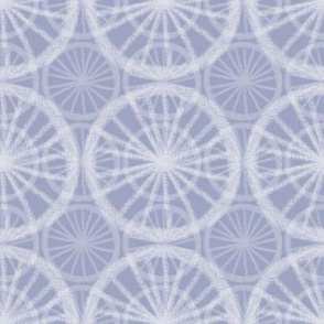 Big wheels on small wheels, in pale white chalk on soft Prussian Blue, by Su_G