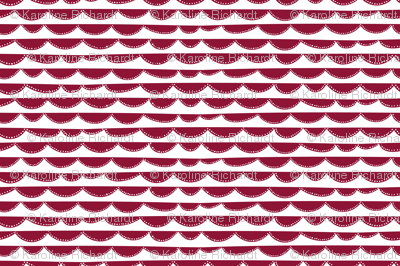 Arc // red // Fun Fair Collection