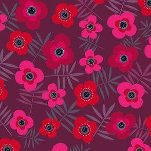 Pink Purple Floral Flower