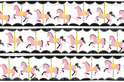 Vintage Carousel // pink-lemon // Fun Fair Collection