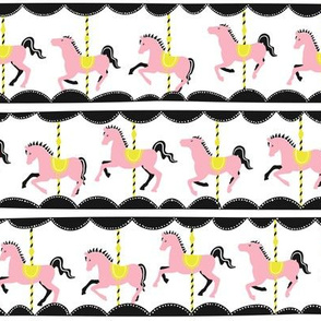 Vintage Carousel // pink-lemon // Fun Fair Collection