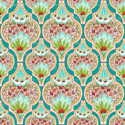 FiorellaTurquoise,by Susanne Mason