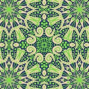 WheelFlower #4 - Green