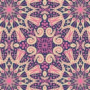 WheelFlower #9 - Pink