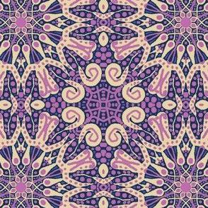 WheelFlower #10 Purplish-Pink