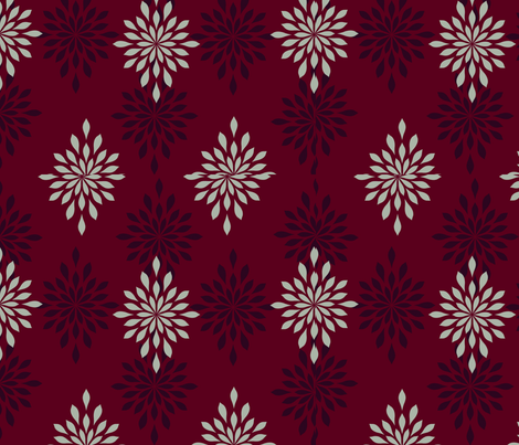 Holiday Elegance fabric by sisters_of_the_heart on Spoonflower - custom fabric