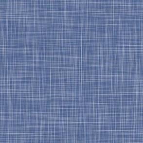 Solid Linen - Denim (cycling)