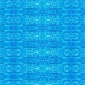 Marrakesh Rice Textured Watercolor  Blues