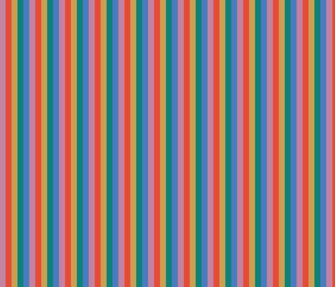 Fat Muted Stripes fabric by bashfulbirdie on Spoonflower - custom fabric